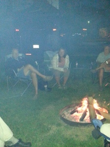 Sing around the campfire...