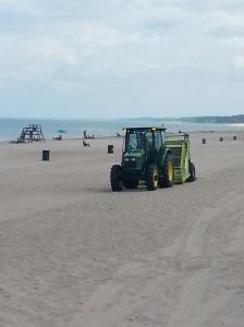 "Beach sweeper ""beach combing""!"