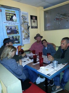 Dinner at Crabby Bill's Cori, Greg, Craig, Tracy, Lee