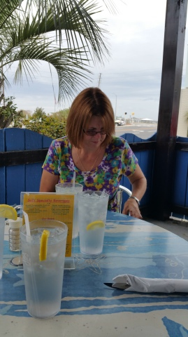 Lunch at South Beach Grill in Wrightsville Beach, NC